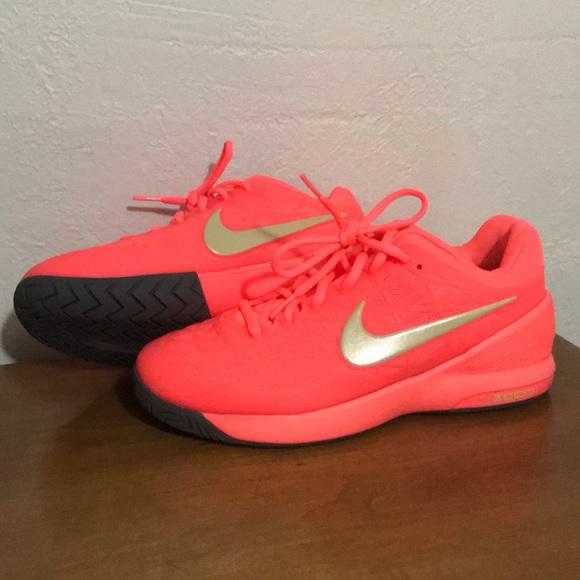 Nike Shoes | Neon Pink Nike Tennis